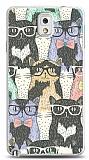 Dafoni Samsung Galaxy Note 3 Kedi Desenli K�l�f