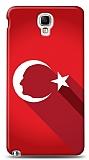 Samsung Galaxy Note 3 Neo Atatürk Bayrak Kılıf