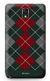 Dafoni Samsung N9000 Galaxy Note 3 Sweater Winter Siyah Rubber K�l�f