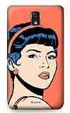 Dafoni Samsung N9000 Galaxy Note 3 Urban Girl Rubber K�l�f