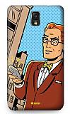 Dafoni Samsung N9000 Galaxy Note 3 Urban Man Rubber K�l�f