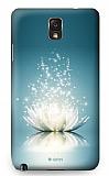 Dafoni Samsung Galaxy Note 3 Water Lily Rubber K�l�f