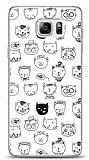 Dafoni Samsung Galaxy Note 5 Cute Cats Kılıf