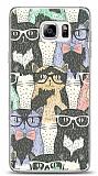 Dafoni Samsung Galaxy Note 5 Kedi Desenli K�l�f