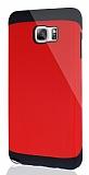 Dafoni Samsung Galaxy Note 5 Slim Power Ultra Koruma Kırmızı Kılıf