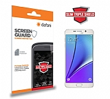 Dafoni Samsung Galaxy Note 5 Slim Triple Shield Ekran Koruyucu