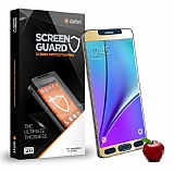 Dafoni Samsung Galaxy Note 5 Tempered Glass Ayna Gold Cam Ekran Koruyucu