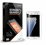 Dafoni Samsung Galaxy Note FE Curve Tempered Glass Premium Beyaz Full Cam Ekran Koruyucu