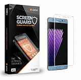 Dafoni Samsung Galaxy Note FE Tempered Glass Premium Şeffaf Full Cam Ekran Koruyucu