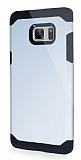 Dafoni Samsung Galaxy Note 7 Slim Power Ultra Koruma Silver Kılıf