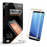 Dafoni Samsung Galaxy Note 8 Curve Tempered Glass Premium Full Gold Cam Ekran Koruyucu
