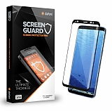 Dafoni Samsung Galaxy Note 8 Curve Tempered Glass Premium Full Siyah Cam Ekran Koruyucu