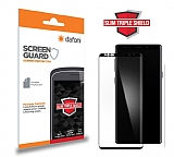 Dafoni Samsung Galaxy Note 9 Full Slim Triple Shield Siyah Ekran Koruyucu