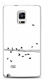 Dafoni Samsung Galaxy Note Edge Flying Birds Kılıf