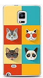 Samsung Galaxy Note Edge Four Cats Kılıf