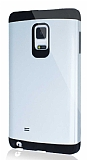 Dafoni Samsung Galaxy Note Edge Slim Power Ultra Koruma Silver Kılıf