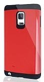 Dafoni Samsung Galaxy Note Edge Slim Power Ultra Koruma Kırmızı Kılıf