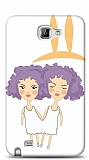 Dafoni Samsung Galaxy Note İkizler Burcu Kılıf