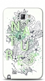 Dafoni Samsung Galaxy Note Nature Flower K�l�f