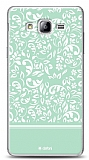 Dafoni Samsung Galaxy On5 Green Flower K�l�f