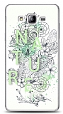 Dafoni Samsung Galaxy On5 Nature Flower K�l�f