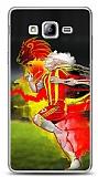 Samsung Galaxy On5 Sarı Kırmızı Kılıf