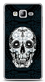 Dafoni Samsung Galaxy On7 Black Skull K�l�f