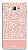 Dafoni Samsung Galaxy On7 Pink Flower K�l�f