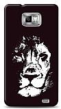 Dafoni Samsung Galaxy S2 Black Lion K�l�f
