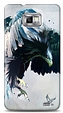 Dafoni Samsung Galaxy S2 Black Eagle K�l�f