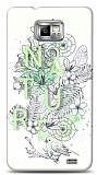 Dafoni Samsung Galaxy S2 Nature Flower K�l�f