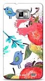 Dafoni Samsung Galaxy S2 Water Color Kiss K�l�f