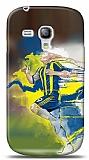 Dafoni Samsung Galaxy S3 mini Sar� Lacivert K�l�f