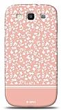 Dafoni Samsung Galaxy S3 Pink Flower K�l�f