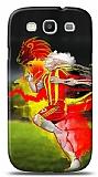 Dafoni Samsung Galaxy S3 Sar� K�rm�z� K�l�f