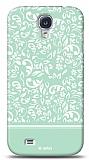 Dafoni Samsung Galaxy S4 Green Flower K�l�f