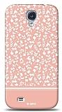 Dafoni Samsung Galaxy S4 Pink Flower K�l�f
