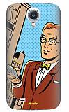 Dafoni Samsung i9500 Galaxy S4 Urban Man Rubber K�l�f