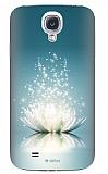 Dafoni Samsung i9500 Galaxy S4 Water Lily Rubber K�l�f
