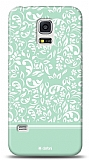 Dafoni Samsung Galaxy S5 mini Green Flower K�l�f