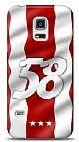 Samsung Galaxy S5 mini Kırmızı 58 Kılıf