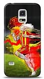 Samsung Galaxy S5 mini Sarı Kırmızı Kılıf