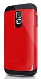 Dafoni Samsung Galaxy S5 mini Slim Power Kırmızı Kılıf