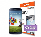 Dafoni Samsung i9500 Galaxy S4 Privacy Screen Gizli Ekran Koruyucu Film