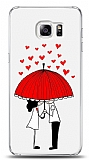Samsung Galaxy S6 Edge Plus Umbrella Love Kılıf
