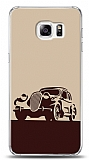 Dafoni Samsung Galaxy S6 Edge Plus Vintage Car Kılıf