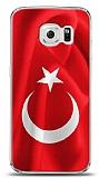 Samsung Galaxy S6 edge Türk Bayrağı Kılıf