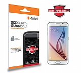 Dafoni Samsung i9800 Galaxy S6 Slim Triple Shield Ekran Koruyucu