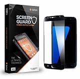 Dafoni Samsung Galaxy S7 Full Tempered Glass Premium Siyah Cam Ekran Koruyucu