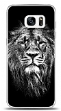 Samsung Galaxy S7 Edge Black Lion Kılıf